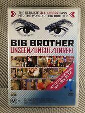 Big Brother - Unseen / Uncut / Unreel - AUSTRALIAN TV SERIES ( DVD , 2003)