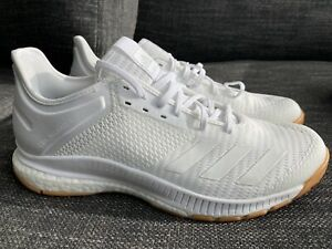 ADIDAS CRAZYFLIGHT X 3 BOOST Women's Volleyball Shoes - White Size US 9.5
