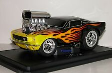 Muscle Machines 1966 Ford Mustang 66 Fastback Pony Car 427 Street Racer 1:18