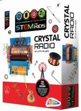 Construye Tu Propio Cristal Radio Kit de fabricación de trabajo Niños Juguete Kit para Armar uno mismo de ciencia