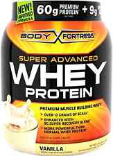 Body Fortress Super Advanced Whey Protein Powder Vanilla 2 Pound