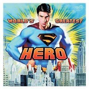Superman Party Napkins/Serviettes 16 pack 2ply Luncheon size
