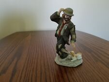 """Emmett Kelly Jr. Miniature Collection from Flambro: Dog Chaser 5"""" Excell Cond"""