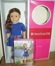 American Girl 2013 Saige Doll of the Year with book  New in box HS8