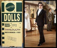 "Tailored Tuxedo Ken Barbie Collector Doll Mattel SHIPPER Silkstone Gold Label """