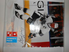 WAYNE GRETSKY 1990s action poster DOMINOS PIZZA ,NHL (LOS ANGELES KINGS)