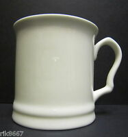1 White Fine Bone China 3/4  Pint Pot Mug Tankard
