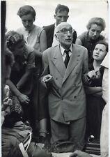 Marc Riboud - François Mauriac - France 1953 - Epreuve argentique d'époque -