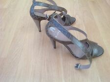 Gf Ferre New Green Heels Sandals 37