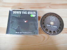 CD punk Down the Drain-Music for troublemakers (10 chanson) sunny bâtards
