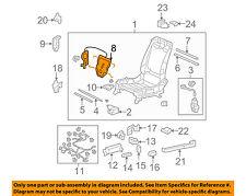 HONDA OEM Seat Track-Lumbar Adjuster Left 81590TA0A72