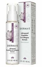 Derma E Advanced Peptides and Collagen Serum 2oz/60ml!  - New in Box