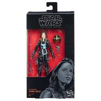 STAR WARS THE BLACK SERIES 56 JAINA SOLO SIX INCH ACTION FIGURE