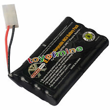 1 x 9.6V 2400mAh NiCd Rechargeable Battery Pack RC CAR