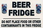 4x6 Inch Glossy Pabst Blue Ribbon Refrigerator Magnet
