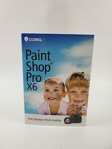 Sealed Corel Paint Shop Pro X6 for Windows New