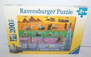 Buildings Of The World Ravensburger Jigsaw Puzzle XXL 200 Piece Brand New