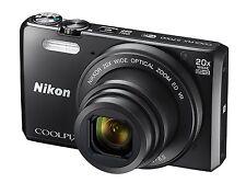 Nikon Coolpix S7000 16.0MP 20x Optical Zoom Full HD Digital Camera - Black