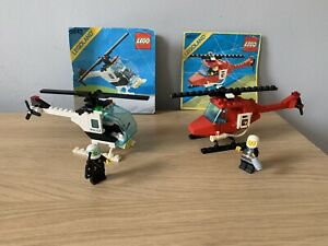 vintage lego helicopters
