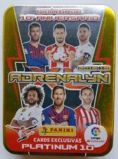 LATA PLATINUM 10 Edicion especial.25 cartas Adrenalyn XL Liga 2019