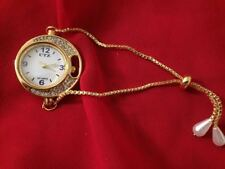 Indian Women Wrist Watches Bracelet Gold Plated Jewelry Wedding Wear Accessories