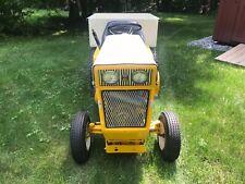 Vintage restored Cub Cadet 104 riding lawn tractor mower International Harvester