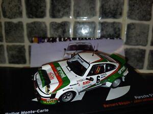 Porsche 911 SC Bernard Beguin Monte Carlo Rallye 1980 1/43rd Ixo diecast WRC