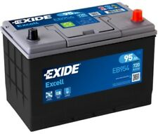 1x Exide Excell 95Ah 720CCA 12v Type 249 Car Battery 3 Year Warranty - EB954