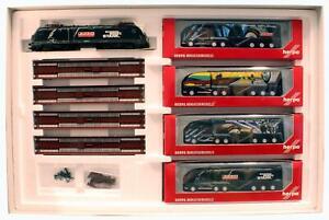 MARKLIN/HERPA DIGITAL 'HO' GAUGE 151054 TRUCK TRANSPORT TRAIN SET