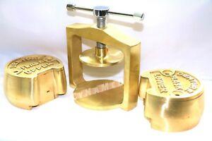 PREMIUM DENTAL LABORATORY SINGLE  LAB PRESS COMPRESS+Upper and Lowerr Flask
