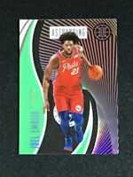 Joel Embiid astounding blue Panini Illusions 2019-20 76ers Pack Fresh