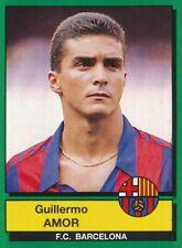 049 GUILLERMO AMOR # ESPANA ROOKIE FC.BARCELONA STICKER CROMO PANINI FUTBOL 90
