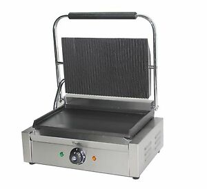 Davlex Large Panini Press Toaster Electric Sandwich Maker Commercial Pannini