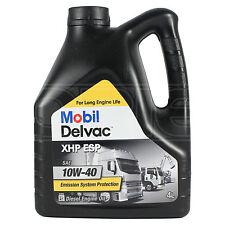 Mobil DELVAC XHP ESP 10w-40 Olio Motore Diesel - 4 LITRI 4 L