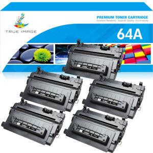 5 Toner Compatible For HP 64A CC364A LaserJet P4014 P4015n P4015tn P4515x P4515n
