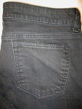 DKNY SOHO Flare Stretch Womens Black Denim Jeans Size 14 S x 29  KCMU9702