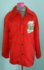 Vintage Jacket 4-H Spruce Grove Beef Red Todd size M Farm Retro