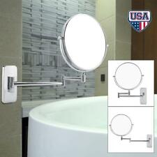 Double Side Cosmetic Mirror Adjustable Bathroom Makeup Mirrors 10x Magnification