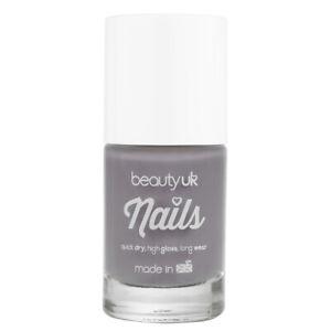 Beauty UK Cosmetics Nail Polish - Smoke Signal / Grey Nail Polish