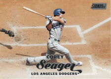 2017 Topps Stadium Club Corey Seager #155 Dodgers