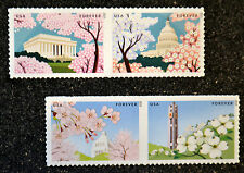 2015USA #4982-4985 Forever Gifts of Friendship Joint Issue Japan 2 Strips = 4