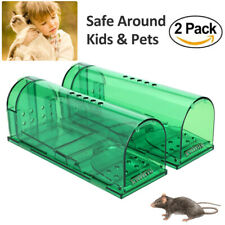 Humane Mouse Traps - Set of 2 - Harmless Live Catch and Release -Upgrade Version