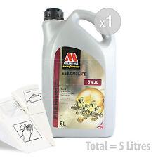 Car Engine Oil Service Kit / Pack 5 LITRES Millers NANODRIVE EE 5w-30 5L