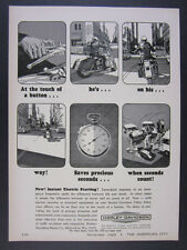 1965 Harley-Davidson Police Solo Motorcycle vintage print Ad