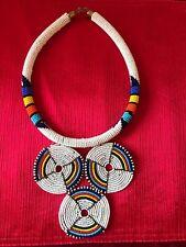 necklace /African pendant necklace Women jewelry/maasai beaded necklace/Kenyan