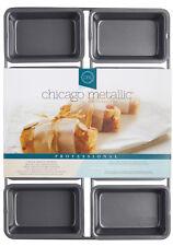 Chicago Metallic Non Stick 8 Hole 9cm x 3cm Mini Loaf / Cake Tin Baking Tray