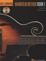 Hal Leonard Mandolin Method 1 TAB Music Book with CD Learn How To Play