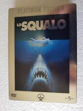 DVD USED STEELBOX LO SQUALO PLATINUM EDITION 2DVD