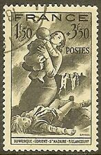 """FRANCE TIMBRE STAMP N°584 """" SECOURS NATIONAL 1F50+3F50 """" OBLITERE TB"""