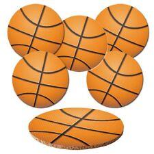 "Untersetzer 6-tlg.Set ""Basketball"" mit Korkrückseite - Bälle - Ball - Sport"